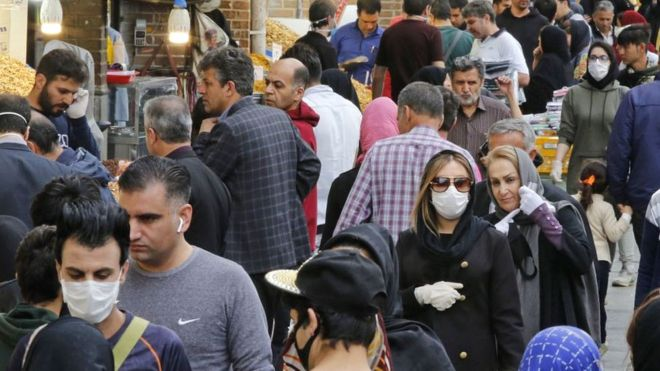 Coronavirus: Has a second wave of infections hit Iran?