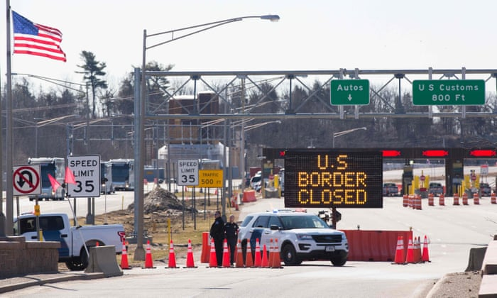 Americans reportedly find 'loophole' to violate Canada's Covid-19 border closure