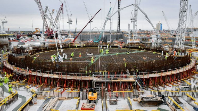 Hinkley Point concrete supplier closed by Covid-19 outbreak