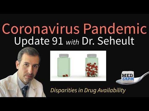 Coronavirus Pandemic Update 91: Remdesivir Pricing & Disparities in Drug Availability