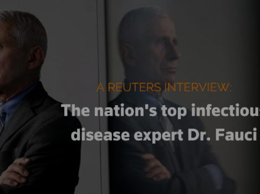 LIVE: Dr. Fauci joins Reuters for an exclusive interview on the future of COVID-19