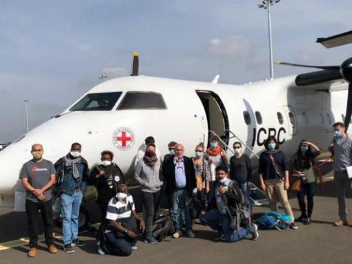 فريق طبي دولي يصل السودان للمساعدة في احتواء كورونا
