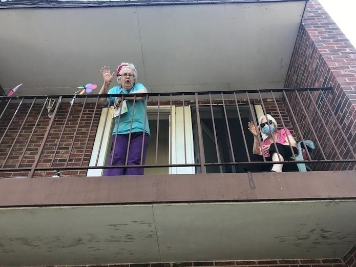 'I Want To Live': Senior Living Residents Find Hope In Lockdown