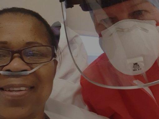 Coronavirus: North Tees nurse returns to work after fighting Covid-19