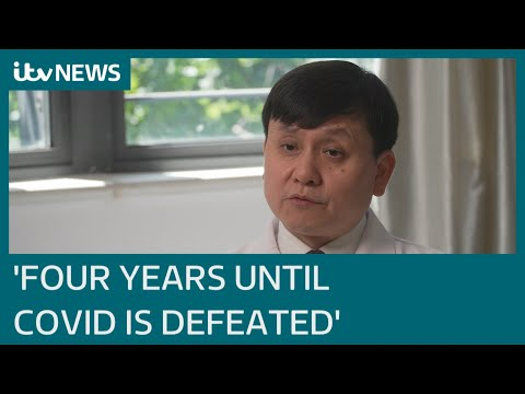 Covid-19 could be with us for next two to four years, Dr Zhang Wenhong warns | ITV News